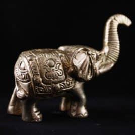 klein bronzen olifantje