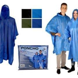 Poncho Volwassenen Groen