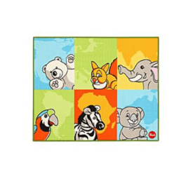 tapijt met dieren van Trudi