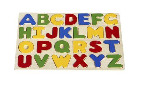 ABC puzzel hoofdletters