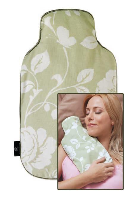 Body Warmer Floral Linen (Sage)
