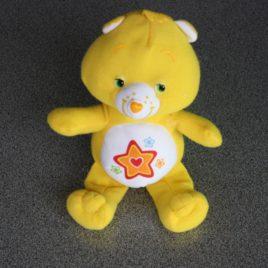 Care Bears 16 cm pluche geel