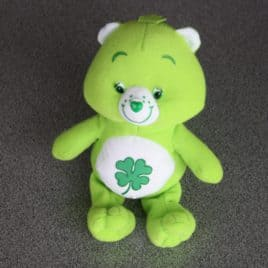 Care Bears 16 cm pluche groen