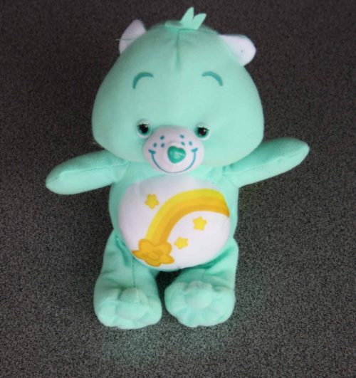 Care Bears 16 cm pluche turquoise