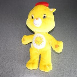 Care bears Softee 45 cm in pluche geel