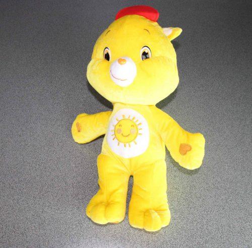 Care bears Softee 45 cm in pluche geel