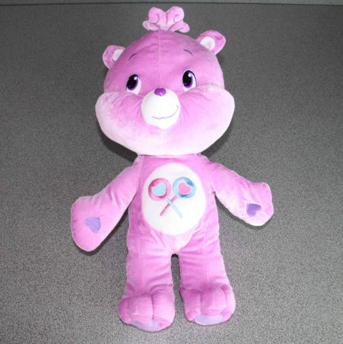 Care bears Softee 45 cm in pluche paars