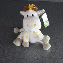 Giraf in pluche geel 21 cm