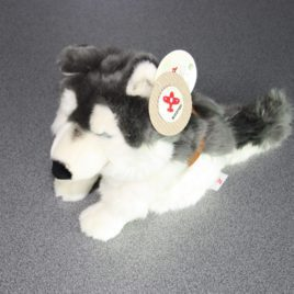 Husky pluche hond