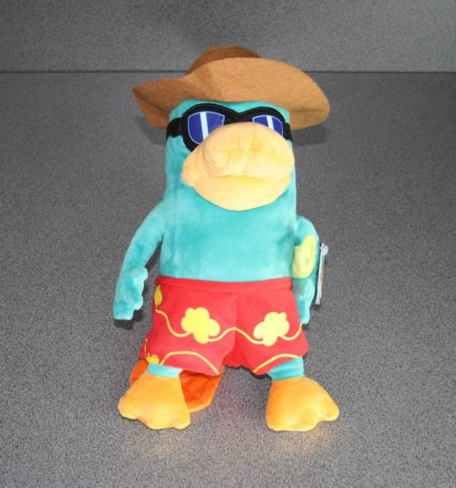 Agent P on Holiday pluche