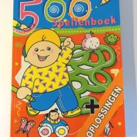 Leuke spellenboeken met 500 spellen - blauw