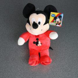 Mickey Mouse met gestreepte voetjes in pluche