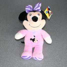 Minnie Mouse met gestreepte voetjes in pluche