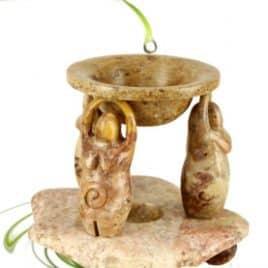 Olieverdamper Godin zeepsteen 16 cm