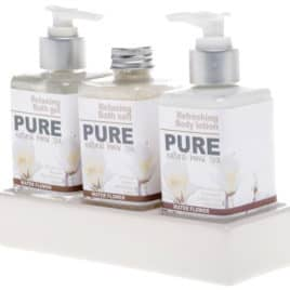 Pure giftset Natural Home Spa Keramieken houder
