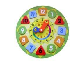 Ronde klok voor kinderen