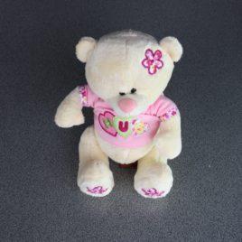 Schattig roze beertje