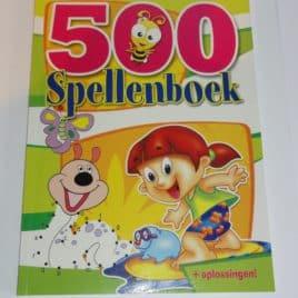 Spellenboek Groen - Boordevol leuke en educatieve spelletjes