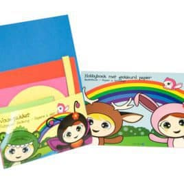 Vouwpakket en activiteitenboek A4
