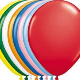 Ballonnen 30 cm Zak 100 stuks assortiment