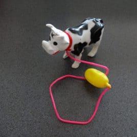 Bewegende koe