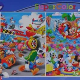 Disney Puzzel 3 x 48 stukjes Ass