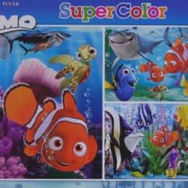 Disney Puzzel 3 x 48 stukjes Finding Nemo