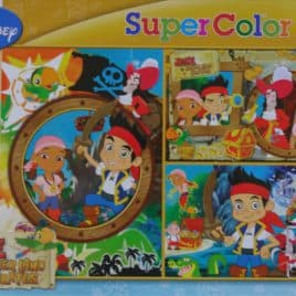 Disney Puzzel 3 x 48 stukjes Jake Never Land Pirates
