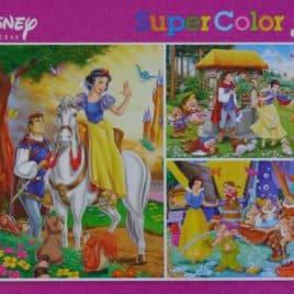 Disney Puzzel 3 x 48 stukjes Princess