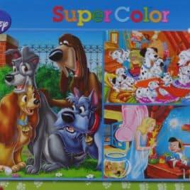Disney Puzzel 3 x 48 stuks Ass honden