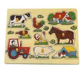 Knoppuzzel boerderij + tractor