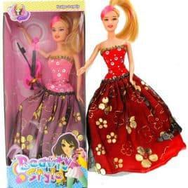 Meisjespop Beauty Style - Rood