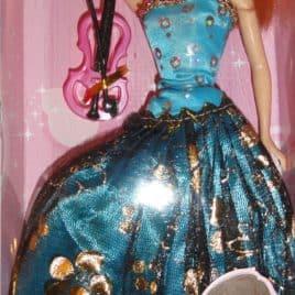 Meisjespop Beauty Style Turquoise blauw