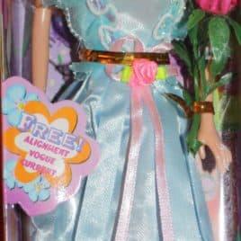 Meisjespop Modern Harm - Turquoise - blauw