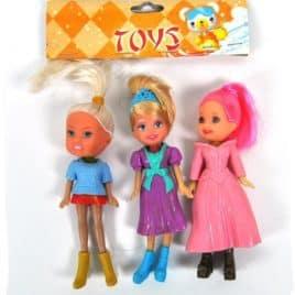 Meisjespoppen setje