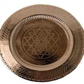 Puja en rituelen dienblad Trigramm