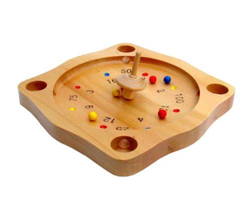 Roulette spel 22 x 22 cm