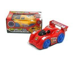 Shaker Car met muziek - rood