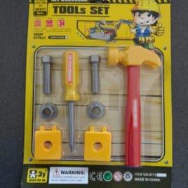 Speelgoed gereedschapset met hamer