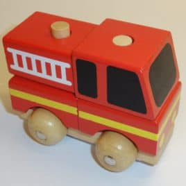 Stapelbare auto Brandweerauto