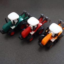 Tractorset frictie
