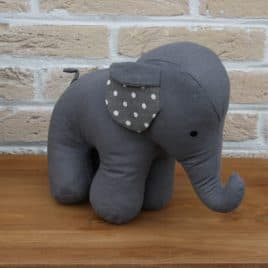 decoratie pluche olifant
