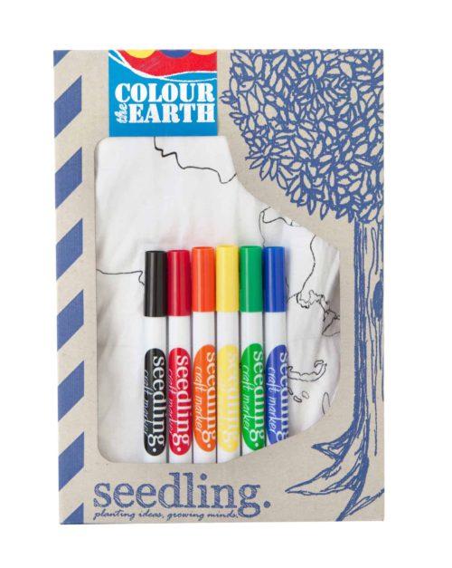Seedling Kleur de aarde box