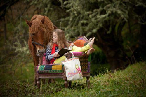Seedling Ontwerp je eigen draagtas zetel paard