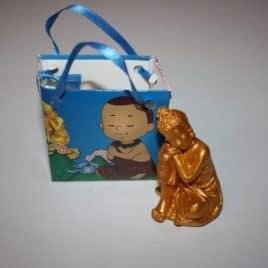 Boeddha geschenk blauw