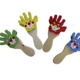 Set van 4 klappende handen