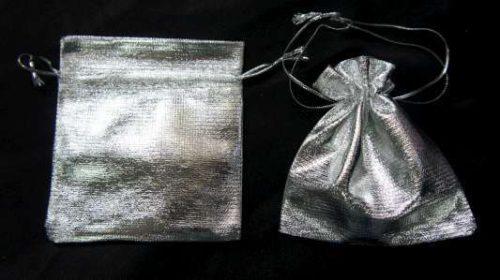 Zilver sieradenzakje