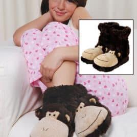 Fun for feet pantoffels aap