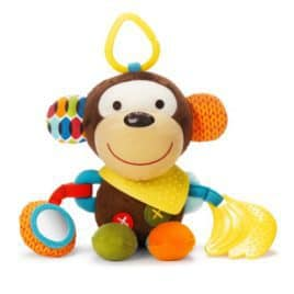 Bandana Buddies activiteiten knuffel aapje vooraanzicht