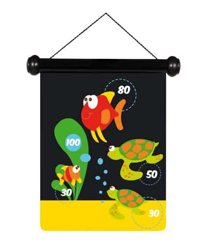 scratch magnetische darts sea life schildpad